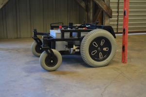 Electric Wheelchair Base: The Pinnacle of Large-Scale Skid-Steer Robotics Testing Platforms