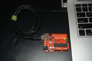 Arduino Connected to Mac