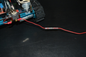 Slide the Heat Shrink Solder Over the Twisted Wires