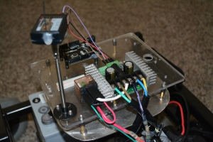 Rover 2 with Sabertooth, Relay, and Radio