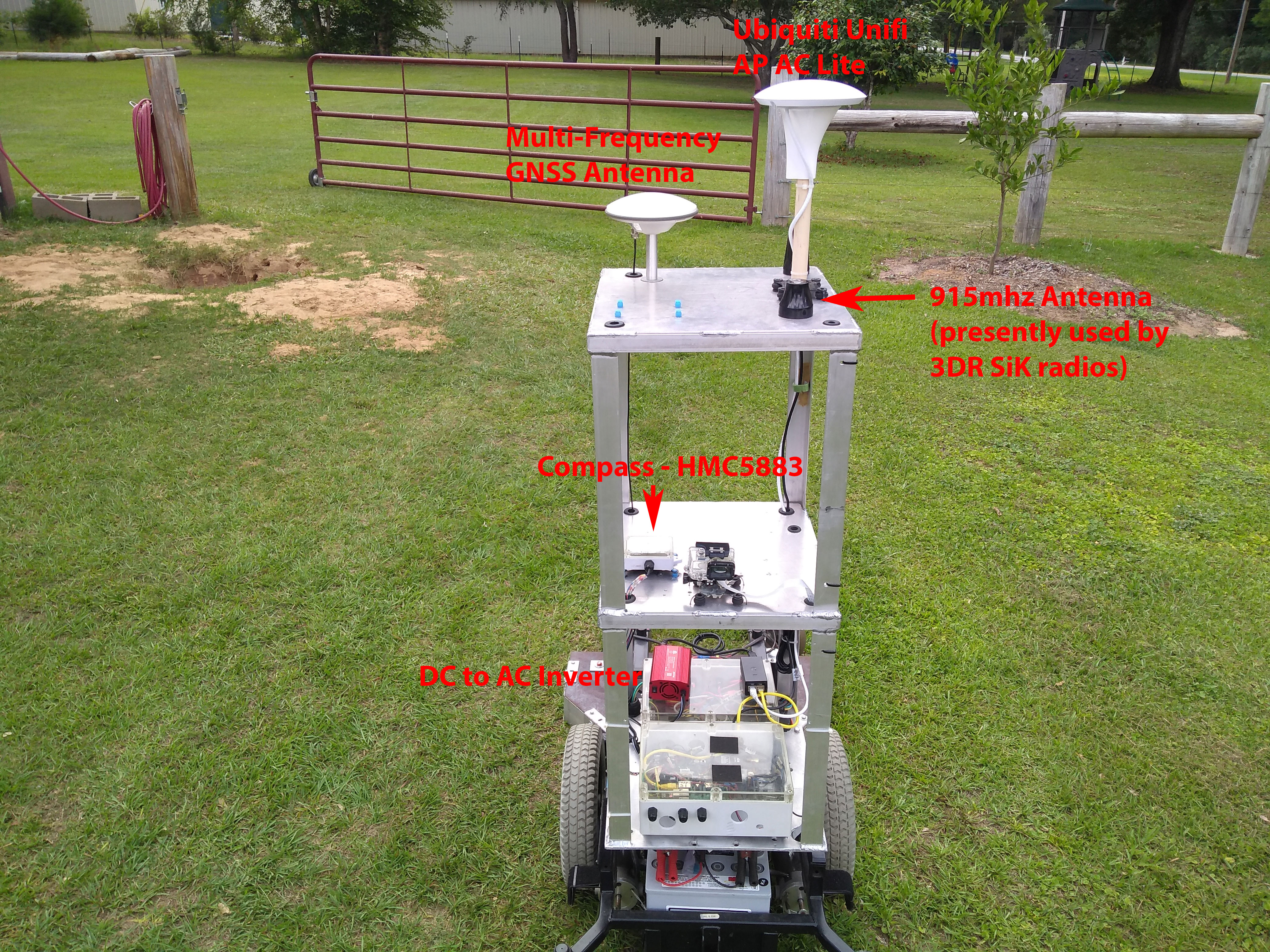Piecing Together an Auto Mowing Rig: Part 1 – Deep South